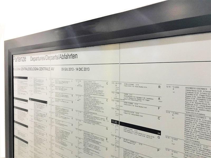 Large format E Ink displays