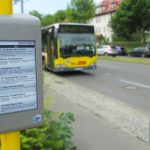 BVG reveals passenger survey result regarding low power technologies for real time information at the bus stop